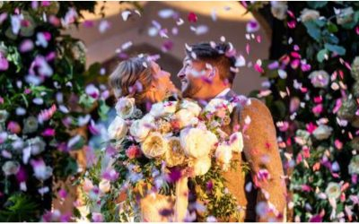 An English Country Wedding  by David Austin Wedding Roses
